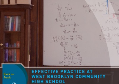 Drawing on Success – Effective Practice at West Brooklyn Community High School