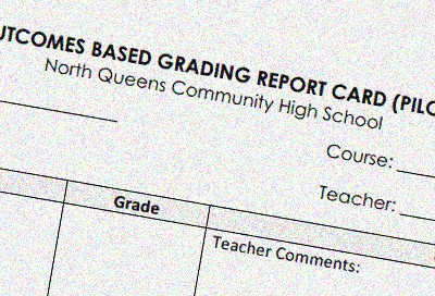 Lessons from Outcomes-Based Grading: North Queens Community High School